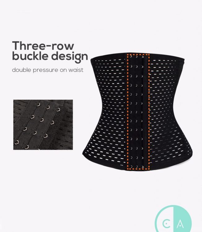 Black Everyday Waist Trainer