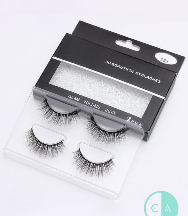 753 Mink Lashes 2 pack
