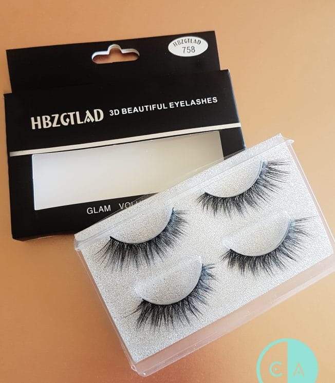 758 Mink Lashes 2 pack